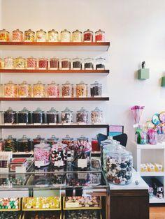 Russian hill candy shop #sanfrancisco