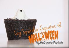 spøkelse cupcakes halloween kryddercupcakesoppskrift Halloween Sweets, Halloween Cupcakes, Table, Mesas, Desk, Tabletop, Desks