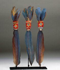 Pre-Columbian Inca Feather Headdress
