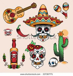 Sugar Skulls Stock Photos, Images, & Pictures | Shutterstock