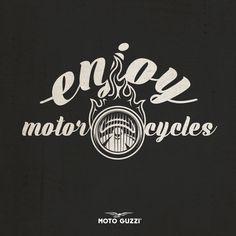Those who ride, never get bored. | #motoguzzi #bike #font #black #style #caferacer #cool #fun