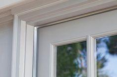 Cinch™ Self-Adhesive Aluminum with Vinyl Door Seal Kit Bicycle Storage Garage, Framing Construction, Door Draft, Vinyl Doors, Door Seals, Diy Home Repair, Aluminium Doors, Exterior Doors, Windows And Doors