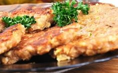 Fuel your day with these tasty fritters. Great hot or cold. Fritters also make a great lunch or a snack. Savory Snacks, Savoury Dishes, Healthy Snacks, Healthy Eating, Breakfast Pancakes, Breakfast Dishes, Corn Fritters Nz, Vegetarian Recipes, Cooking Recipes