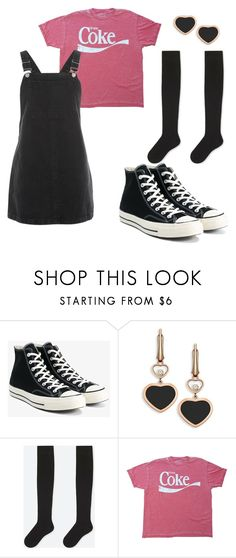 samantha - outfit 4 by electrasweetheart on Polyvore featuring Topshop, Uniqlo, Converse and Chopard
