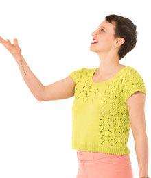 Cedri from Twist Collective knit in Valley Yarns Longmeadow