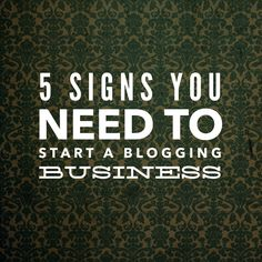 5 Signs You Need To