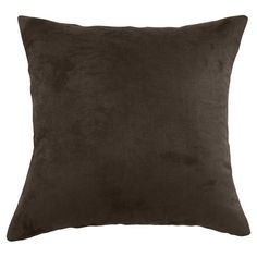 Chooty & Co Passion Suede Polyester Throw Pillow & Reviews | Wayfair