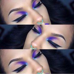 Gorgeous Makeup: Tips and Tricks With Eye Makeup and Eyeshadow – Makeup Design Ideas Cute Makeup, Gorgeous Makeup, Pretty Makeup, Makeup Art, Beauty Makeup, Edgy Makeup, Purple Makeup, Dramatic Makeup, Fall Makeup