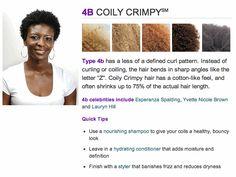 Natural Hair: Type 4B