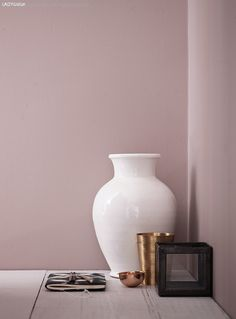 ALTROSA als Wandfarbe. ALTROSA als Wandfarbe. The post ALTROSA als Wandfarbe. appeared first on Tapeten ideen. Pink Walls, Mauve Bedroom, Wall Color, Wall Painting, Bedroom Wall Colors, Home Decor, Jotun Lady, Color, Grey Home Decor