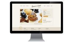 Browns Court Bakery Website | Nudge
