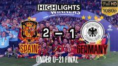 Spain U21 2-1 Germany U21   Highlights   HD   Under-U21 FINAL MATCH Highlights, Euro, Spain, Germany, Youtube, Sevilla Spain, Luminizer, Deutsch, Hair Highlights