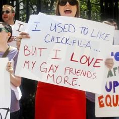 Love my gay friends & relatives more