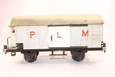 Vintage Marklin 1991/1 PLM reefer with brakeman's shack #Markin
