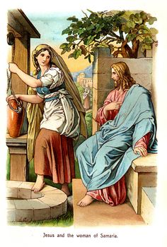 The Samaritan Woman argued with Jesus - Women In The Bible
