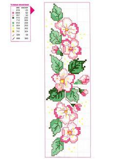 Kanaviçe Havlu Örnekleri Şemalı 11 - Mimuu.com