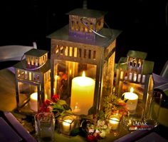 lantern centerpieces | lantern centerpieces | My Wedding Ideas  These are the ones from ikea!!