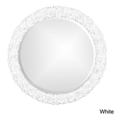 Silver Antique Rose Mirror | Overstock.com Shopping - Big Discounts on Allan Andrews Mirrors