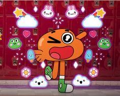 Cartoon Pics, Cartoon Characters, Icons Tumblr, Yoshi, Orange Fish, Cartoon Wallpaper Iphone, World Of Gumball, Indie Kids, I Icon