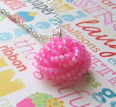 Frosting Shot Necklace  | by Migoto Chou