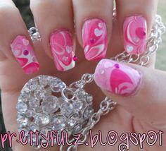 Valentine's+Day+Nail+Designs | VALENTINE'S DAY NAIL ART DESIGN | Pink Valentine's Day Nails