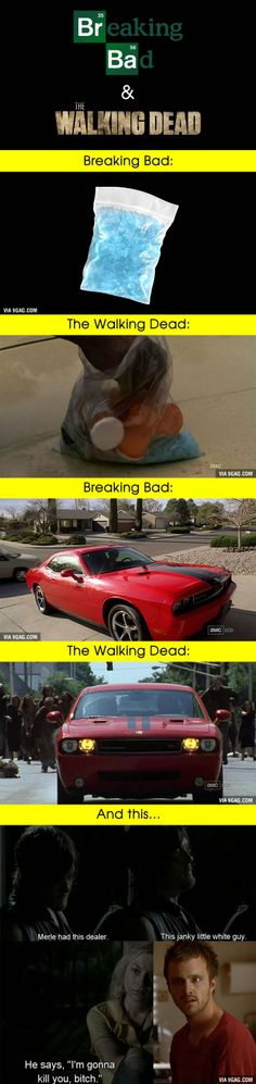"""This 100% Proves That """"Breaking Bad"""" & 'The Walking Dead' Are Related"""