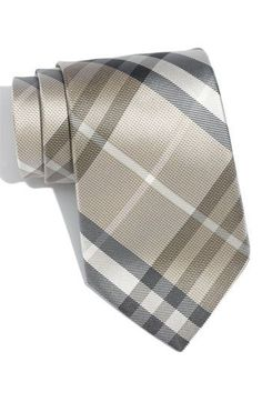 Burberry Tie? Check.