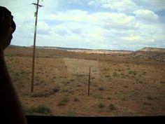 Cruzando el desierto en tren. El escenario del correcaminos
