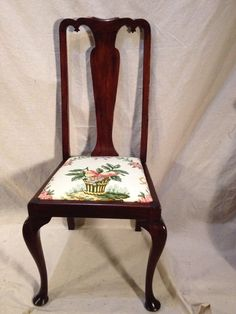 Hendron Solid Walnut Side Chair. A Sturdy And Wonderful Piece With Years Of  Service Left