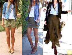 Look do Dia = Jeans + Verde Militar