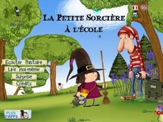 The Little Witch at School - Android app for kids - an interactive book (about 25 pages long) with extra activities. Interactive Books For Kids, Theme Halloween, Halloween Apps, School Reviews, French Education, School Games, School App, Too Cool For School, Best Apps