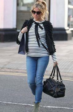 Mamãe fashion: Sienna Miller Mais em : taofeminino.com.br