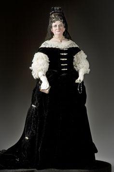 Mme. Françoise d'Aubigné de Maintenon, mistress of Louis XIV and his second wife, although never his queen (!)