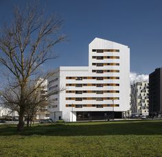 New group of council flats in Vitoria-Gasteiz / Iñaki Garai, Inés López (ACXT)