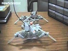 Robot evolution: Metamorphosis key to creating stable walking robots (article & video)