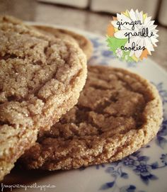 Recipe: Ginger Sparkle (Ginger Snap) Cookies | Free Spirit Reigns