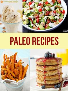 An index of all the 1000's of the best Paleo Recipes on MyNaturalFamily.com