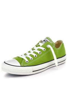 I don't have green Chuck Taylors, yet!!