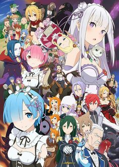 ReZero Kara Hajimeru Isekai Seikatsu Finally Binged This Anime I Understand The Rem Support Club Think Im Leaning More Towards Emilia Tho XD