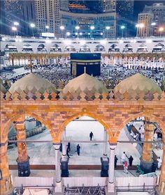 Beautiful Mosques, Beautiful Places, Mosque Architecture, Masjid Al Haram, Mekkah, Madina, Islamic Pictures, Saudi Arabia, Taj Mahal