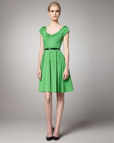 {Sweeney Cap-Sleeve Dress by Kate Spade New York}