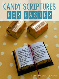100 ideas for a christ centered easter craft activities easter candy scriptures for easter free template negle Gallery