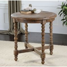 Shop for Uttermost Samuelle Reclaimed Wood End Table. Get free shipping at Overstock.com - Your Online Furniture Outlet Store! Get 5% in rewards with Club O!