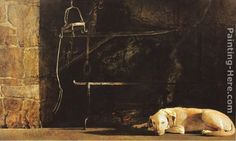 wyeth paintings | Andrew Wyeth Paintings - Andrew Wyeth Ides of March Painting