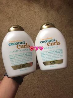 Purifying Shampoo, Curl Curl, Coconut Oil, Beauty Hacks, Hair Cuts, Hair Beauty, Girly, Room Decor, Sweet