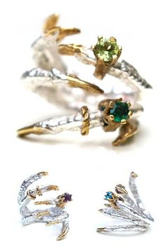 TheCarrotbox.com modern jewellery blog : obsessed with rings // feed your fingers!: Tessa Metcalfe / I Love Crafty