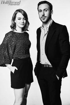Emma Stone and Ryan Gosling – The Hollywood Reporter TIFF portrait