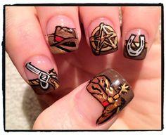 Wild West Nails