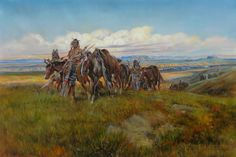 In the Enemy's Country by Charles Marion Russell