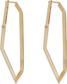 We Adore: The Gold Geometric Hoops from Monique Péan at Barneys New York